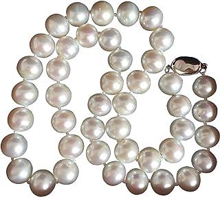 Collar de perlas blancas de agua dulce