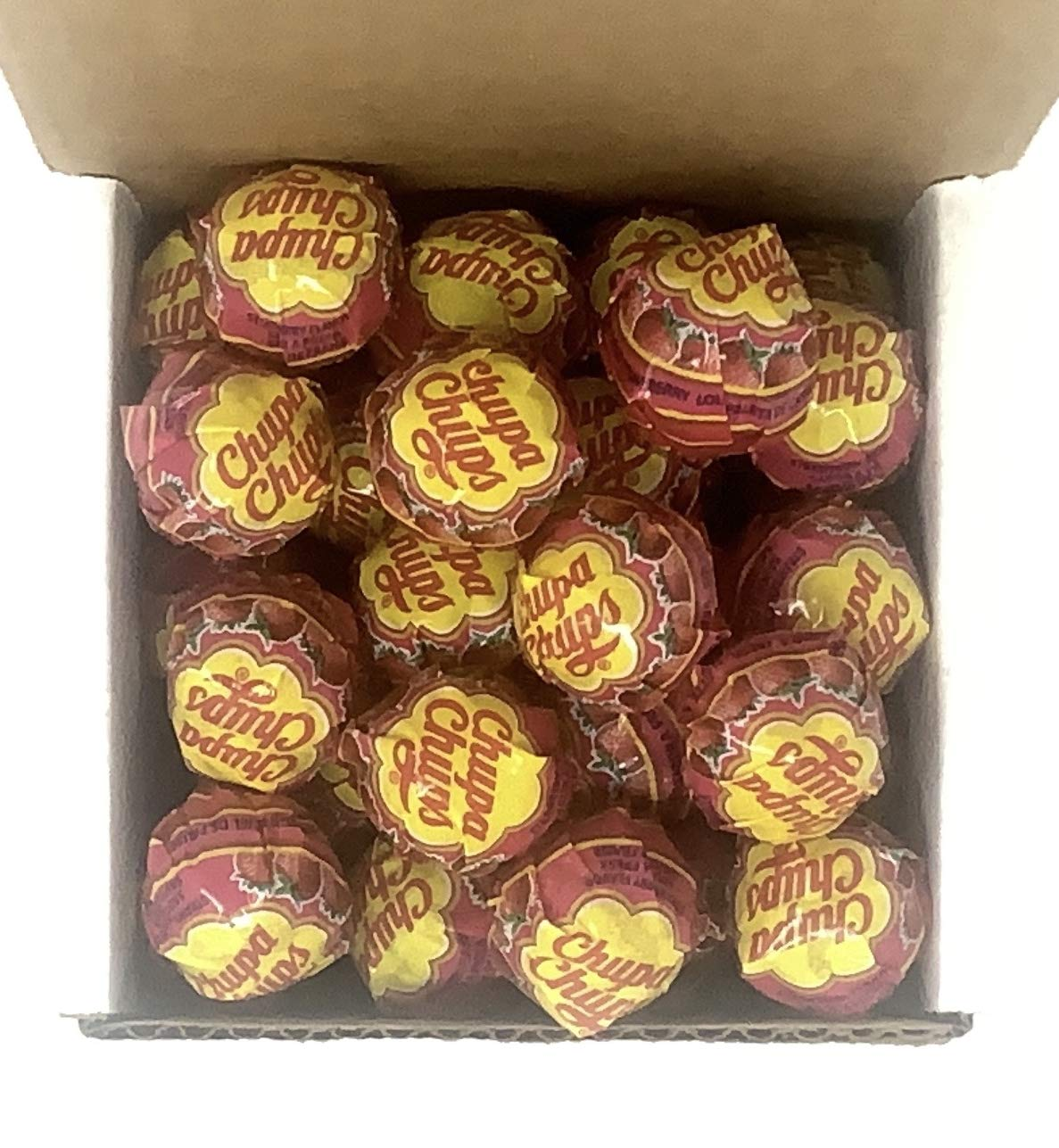 Chupa Chups Lollipops 40 trust National products Lollies Box in Strawberry a