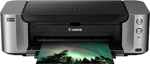 Canon PIXMA Pro-100 Wireless Color Professional Inkjet...
