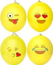 Kangaroo Emoji Universe: Emoji Punching Balloons, 12 Pack