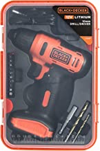 Black and Decker LD12SP Cordless Driver Dill 12V plus 13-Piece Accessories Box