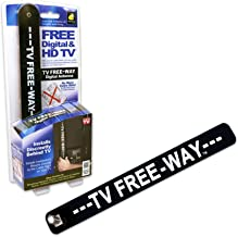 Get Clear TV with a Portable Digital Antenna from TV Free-Way by BulbHead