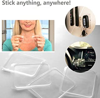 (Best Price&Quality) 20Pcs Amazing Super Sticky NonSlip & Anti Skid Silicone Grip Reusable Gripping Furniture Mat Pad