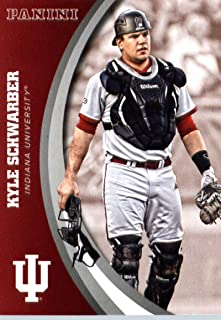 2016 Panini Collegiate Team Set Card #20 Kyle Schwarber Indiana University