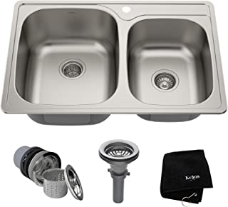 Best small double sink for kitchen Reviews