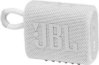 JBL Go 3 Waterproof and Dust Proof Bluetooth Speaker - White