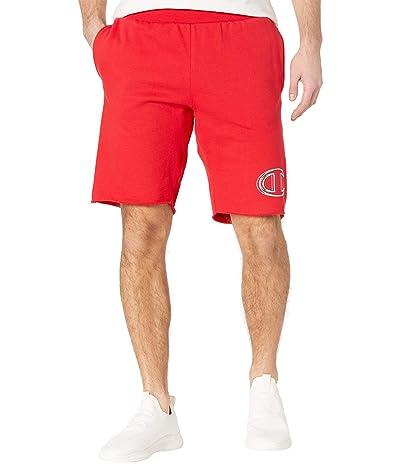 Champion LIFE Reverse Weave(r) Cutoff Shorts (Scarlet) Men