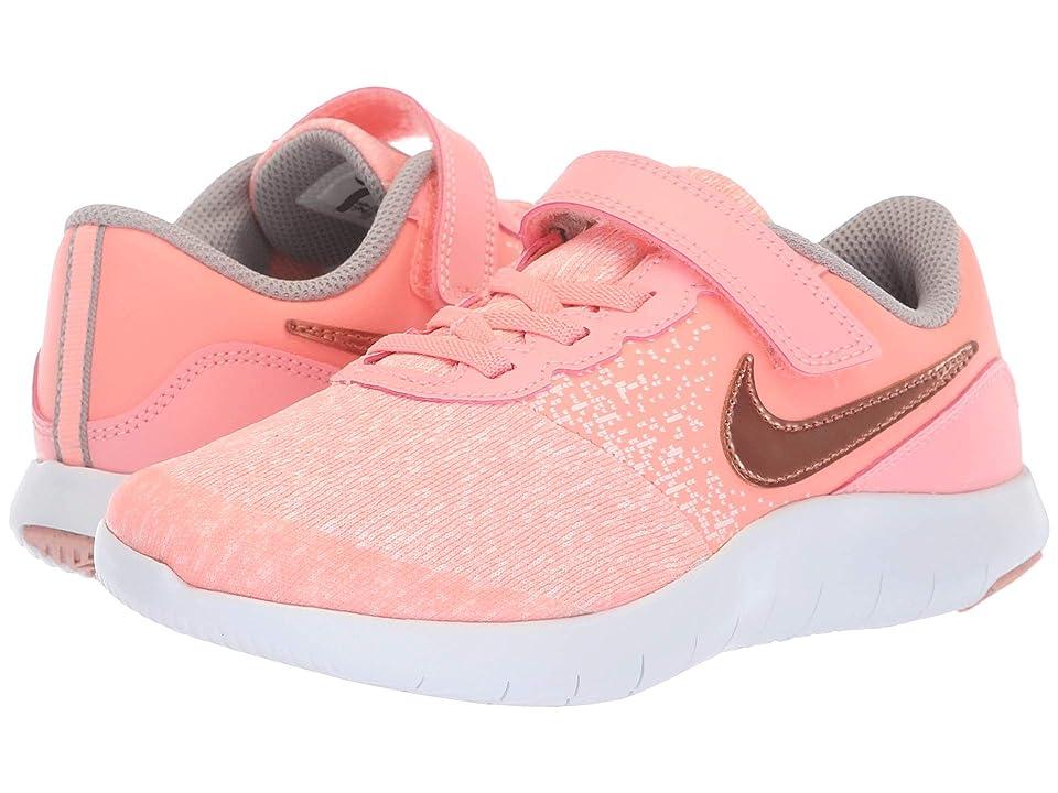 Nike Kids Flex Contact PSV (Little Kid) (Pink Tint/Rose Gold/Storm Pink) Girls Shoes