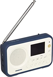 Sangean DPR-76 Digital Portable Radio (Ink Blue)