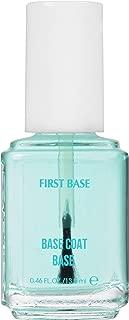 essie Base Coat Nail Polish, First Base Base Coat, Adhesion + Protection, 0.46 Fl. Oz.