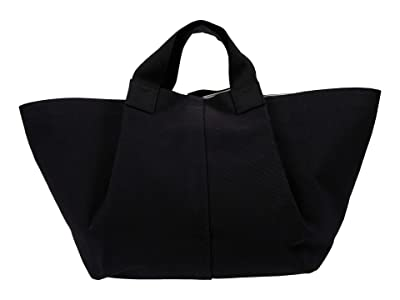 AllSaints Clarendon East West Tote (Black) Handbags