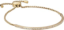 Brilliance Pave Bar Slider Bracelet