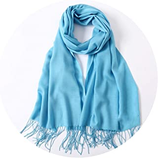 women scarf summer thin solid shawls and wraps lady pashmina bandana female hijab winter long foular