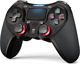 Fegishilly Wireless Controllers Compatible with Playstation 4 Game Controllers for PS-4 Pro, PS-4 Slim-Built-in Speaker - ...
