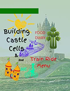 Building Castle Cells & 2nd Train Ride Menu: FOOD DIARY JOURNALING
