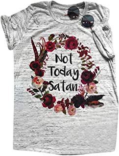 7146e4bf49de3f Game of Thrones T-Shirts Not Today VJGOAL T-Shirt Donna Divertenti Scritte