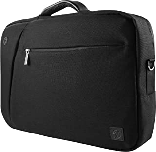 Vangoddy Slate 3 in 1 Hybrid Universal Laptop Carrying Bag, Size 17 inch, Onyx Black