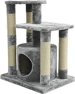 AmazonBasics Cat Tree with Condo, Scratching Posts