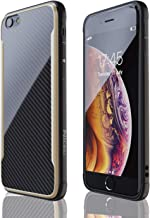 iPhone 6 Case | iPhone 6S Case | Shockproof | 12ft. Drop Tested | Carbon Fiber Case | Lightweight | Scratch Resistant | Compatible with Apple iPhone 6/6S - Gold