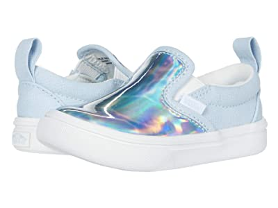 Vans Kids Autism Awareness ComfyCush Slip-On V (Infant/Toddler) ((Autism Awareness) Sensory/Dream Blue) Girls Shoes