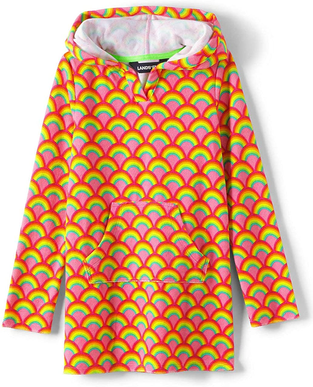 Lands' End Girls Terry Pullover Cover-up