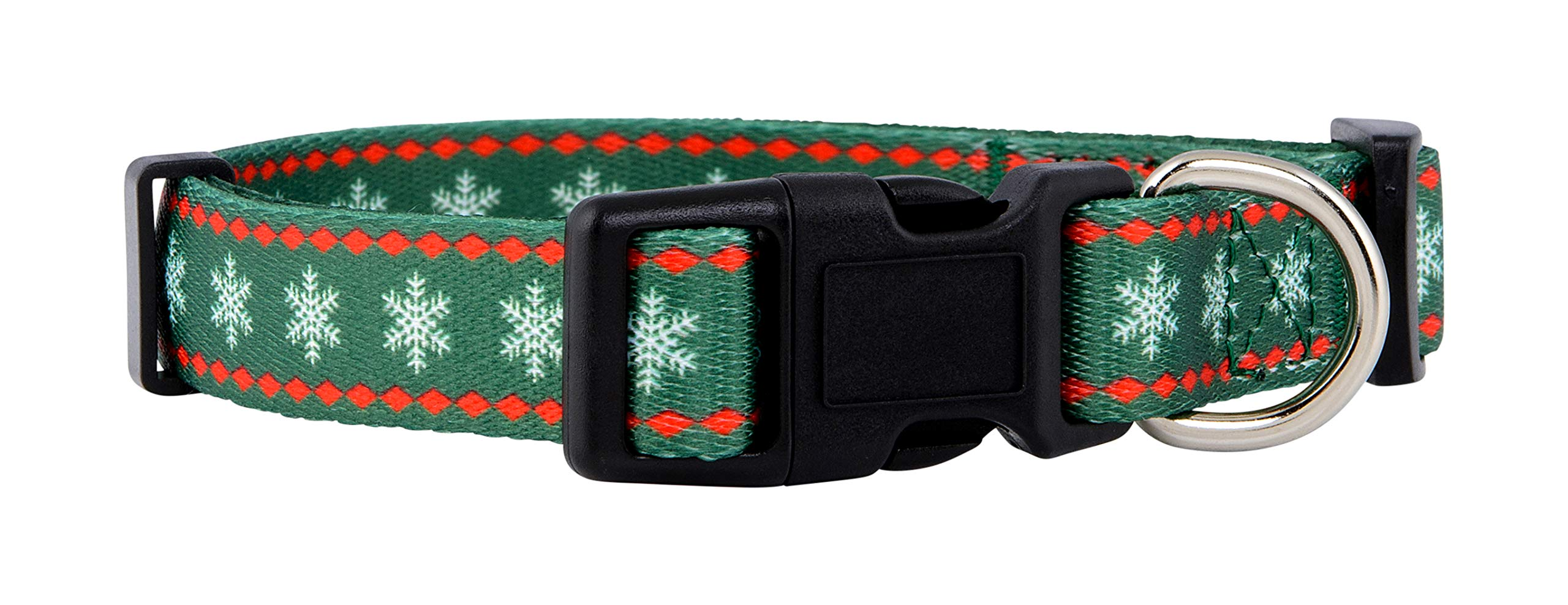 Native Pup Christmas Dog Collar