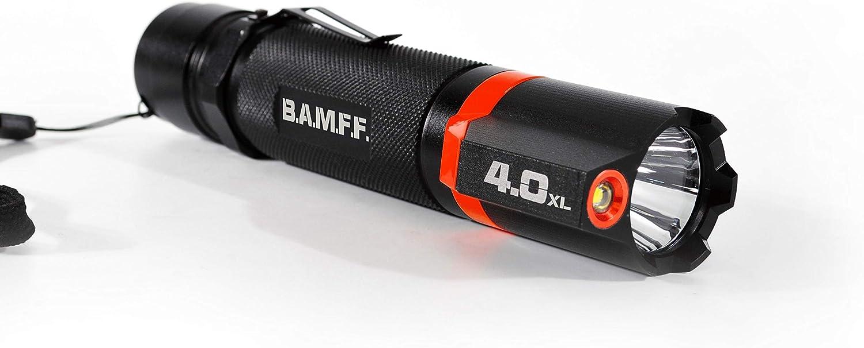 Striker Concepts dual-e 2.0–200lm Dual LED Taktische Taschenlampe, Schwarz Gelb, 00156