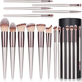 18 pieces Professional makeup Brushes set, makeup tools & accessories, wonderful set elegant design, foundation Brush for ...