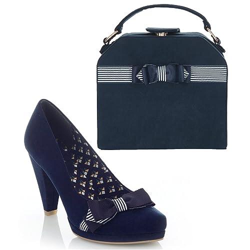 Ruby Shoo Women s Susanna Court Shoe Pumps and Matching Tampa Bag d23253b94a68