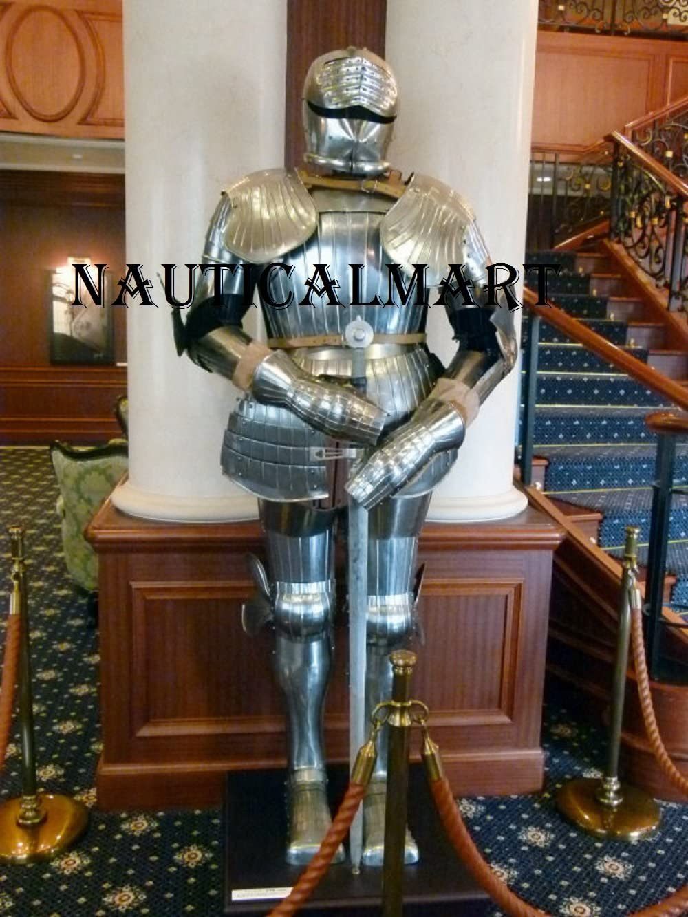 NauticalMart Medieval Wearable Phoenix Mall Knight Full of Reenact Suit New product!! Armor
