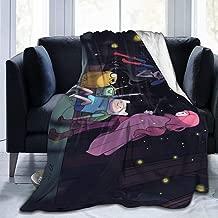 Adventure Time with Finn & Jake Ultra Soft Micro Fleece Blanket Warm Plush Throw Anti-Pilling Flannel Blanket,60