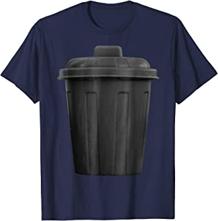 Trash Can Funny Hilarious Halloween Costume T-Shirt