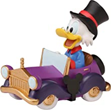 Precious Moments 201706 Disney Collectible Parade Scrooge McDuck Resin/Vinyl figurine, One Size, Multicolored