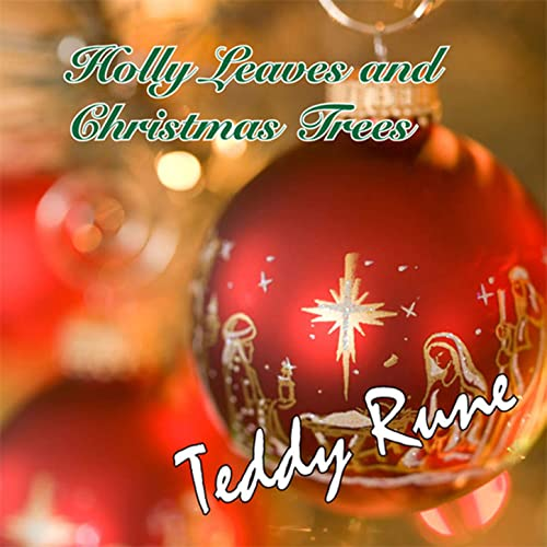 Holly Leaves And Christmas Trees By Teddy Rune On Amazon
