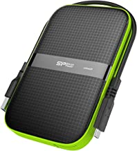 Silicon Power 4TB USB-C USB 3.0 Rugged Portable External Hard Drive A60, Military-Grade Shockproof/Water-Resistant for PC,...
