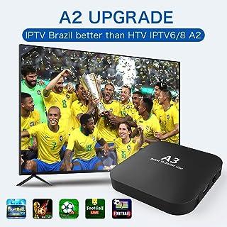 IPTV Brazil Brazilian Box,2020 Newest A3 Brasil Box Better Faster Then IPTV8 HTV 6 IPTV6+, HTV 5 A3 IPTV5+ 4k canais do Brazil Upgraded, More Then 250+ Live Brazilian BTV IP TV Channels, Movies Show
