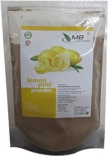 Best dried lemon peel powder Reviews