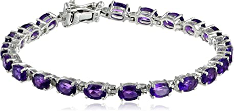 Best amethyst tennis bracelet silver Reviews