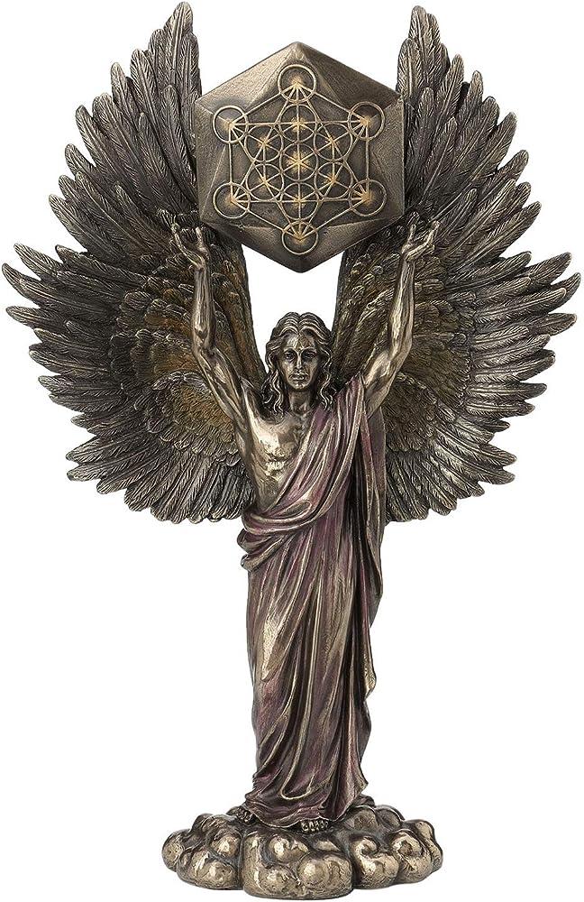 Veronese statua di angelo arcobaleno metatron