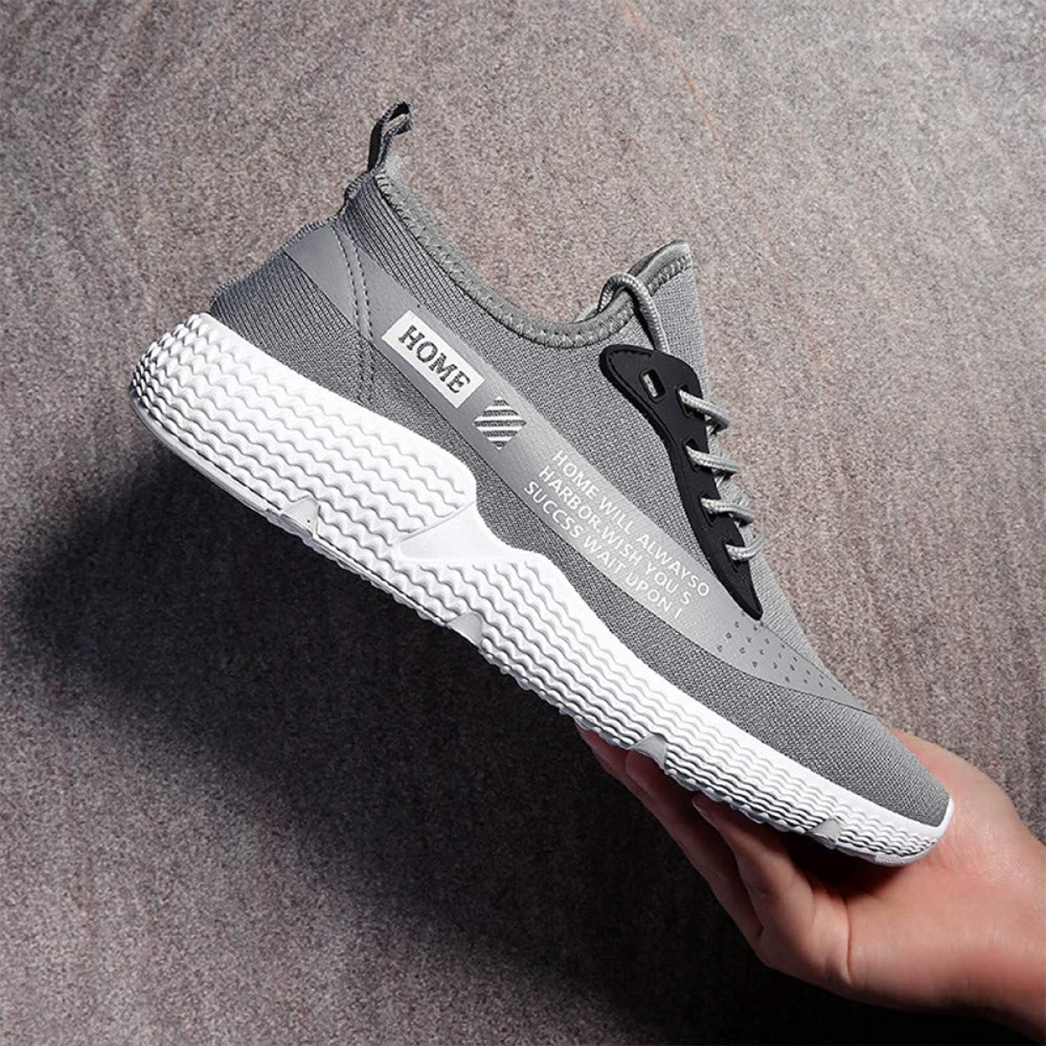 Hasag Sports shoes Men's shoes Fashion Men's Breathable Lightweight Casual shoes Running shoes