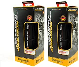 Continental Grand Prix 4-Season Cycling TIRE 700X28 Set of 2 Tires