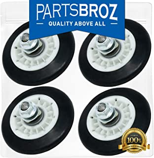 4581EL2002C (4-Pack) Drum Support Roller Assembly for LG Dryers by PartsBroz - Replaces AP5688895, 2701044, 4581EL2002A, 4581EL2002B, 4581EL2002D, 4581EL2002E, 4581EL3001C, 4581EL3001F, PS8260240