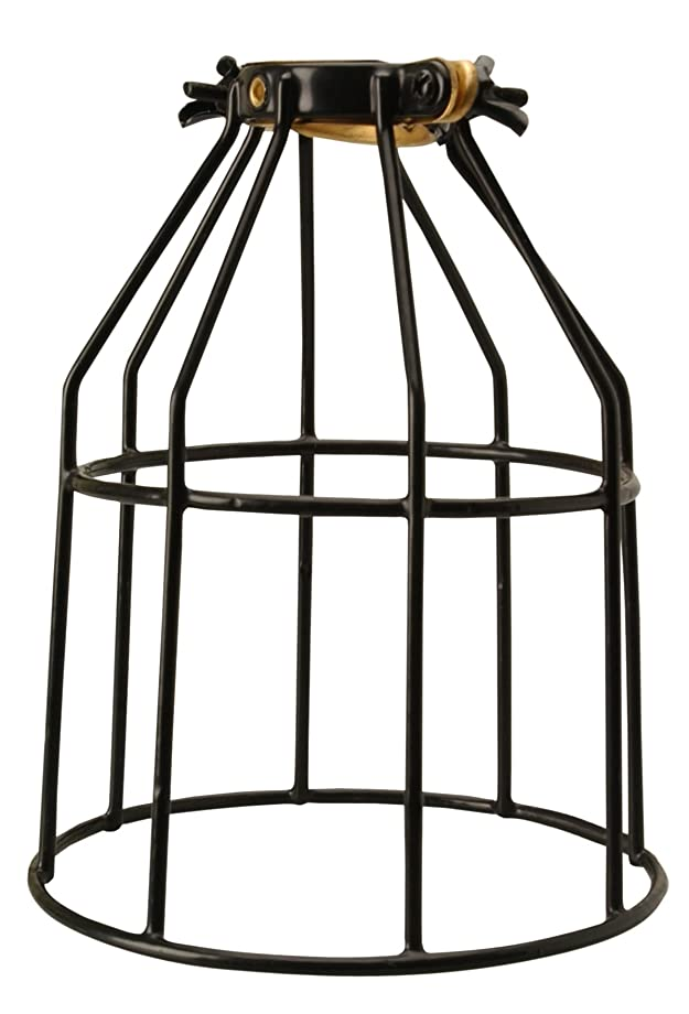Coleman Cable 072002000 Replacement Metal Guard for Work Light Strings, Black