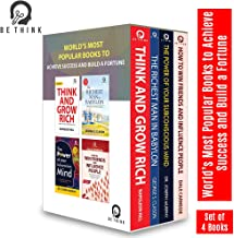 World's Most Popular Books to Achieve Success and Build a Fortune (Set of 4 Books)