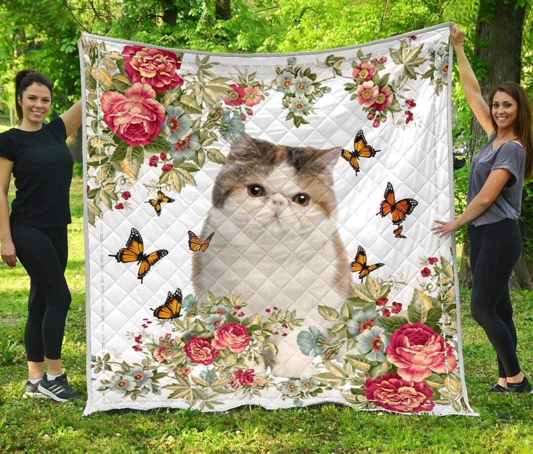 Personalized 5 popular Cat Quilt Gift for Your Birthday Lovers D unisex