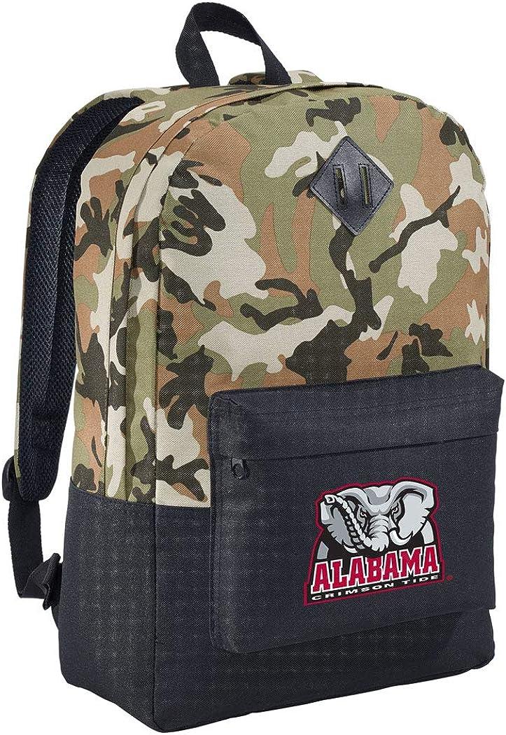 Clearance SALE Limited time Alabama CAMO Time sale Backpack MEDIUM University Backpacks of