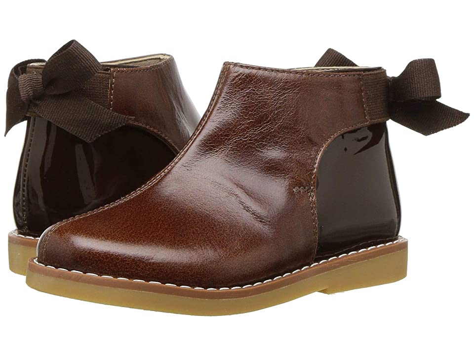 Elephantito Anabelle Bootie (Toddler/Little Kid/Big Kid) (Brown) Girls Shoes