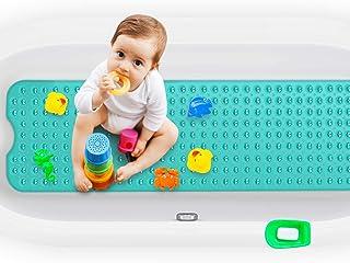 Magicfun Badewannenmatten, Antirutschmatte BPA frei 100×40 cm, rutschfest Badematte für..