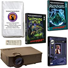 AtmosFearFX Phantasms & Witching Hour Virtual Reality Projector Value Kit for Halloween. Includes Free Virtual Santa DVD!