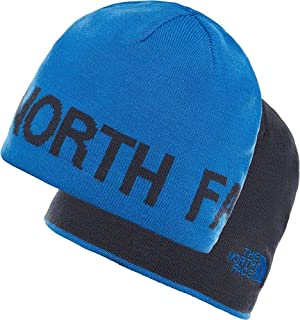 The North Face Men Reversible TNF Banner Beanie Reversible TNF Banner Beanie, TRKSHSEA/URBNVY, One Size Blue